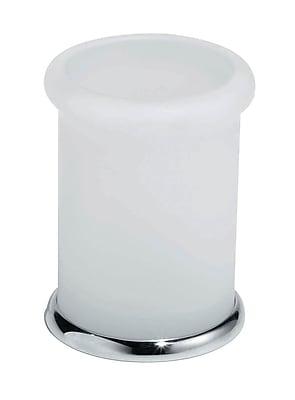 Artos Lulay Vetrilite Free Standing Tumbler; Chrome WYF078276274494