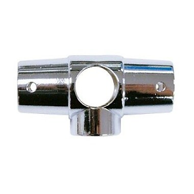 Elements of Design 5 Hole Shower Ring Connector; Chrome