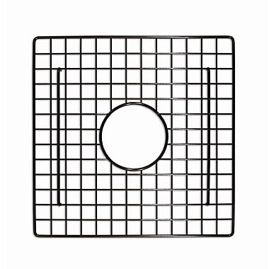 Native Trails Sink 13'' x 13'' Square Bottom Sink Grid; Mocha