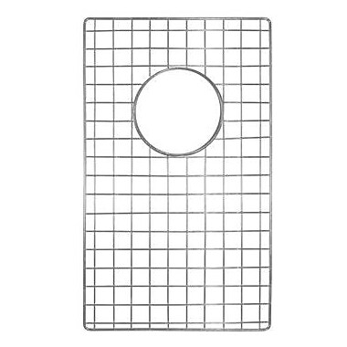 Native Trails Sink 10'' x 17'' Bottom Sink Grid; Stainless Steel