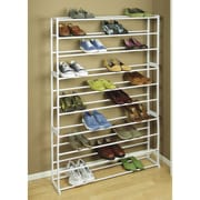 Richards Homewares 50 Pair Shoe Tower Storage Rack