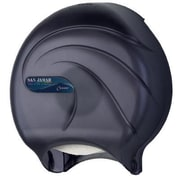 San Jamar Oceans Single Roll JBT Toilet Tissue Dispenser in Black Pearl