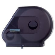 San Jamar Quantum Roll Dispenser w/ Stub Roll Area in Black Pearl