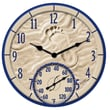 Taylor Springfield Precision Instruments 14'' Thermometer Wall Clock