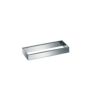 WS Bath Collections Skuara Towel Rail/Bracket in Polished Chrome