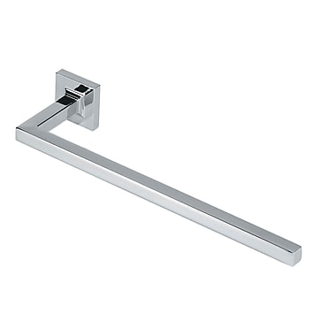 Artos Diora Wall Mounted Towel Bar; Brushed Nickel