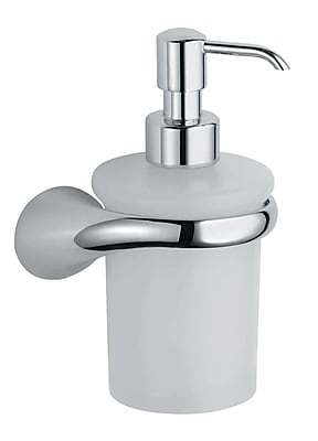 Artos Lulay Vetrilite Wall Mount Soap Dispenser; Brushed Nickel WYF078276298757