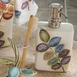 Croscill Mosaic Leaves Soap Dispenser