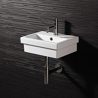 Bissonnet Area Boutique Logic 40 Ceramic Bathroom Sink