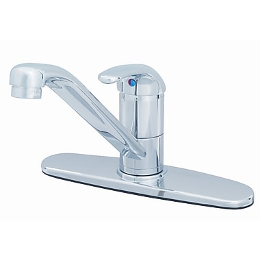 T&S Brass One Handle Centerset Kitchen Faucet