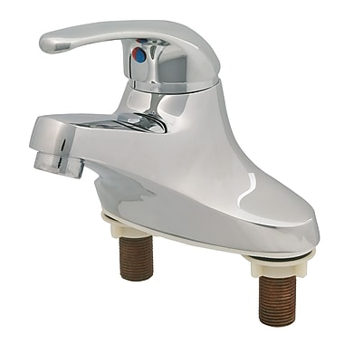 T&S Brass Centerset Bathroom Faucet w/ Single Lever Handle