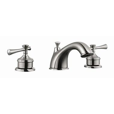 Design House Ironwood Double Handle Bathroom Faucet; Satin Nickel