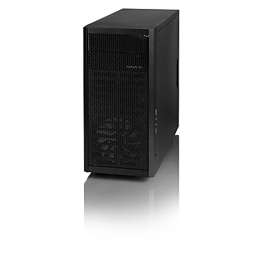 Fractal Design Core 1000 USB 3.0 MicroATx Mid Tower Computer Case, Black