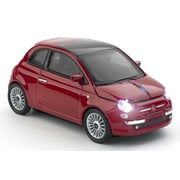 Click Car Products® Fiat 500 New Wireless Optical Mouse, Red