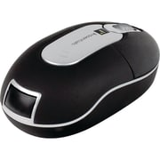 iEssentials IE-MM-PW Mini Wireless Optical Mouse, Black