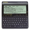 Franklin® LM6000B Speaking Merriam-Webster® Language Master Dictionary, 8 Line Display
