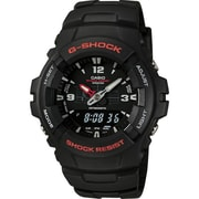 Casio® G100-1BV G-Shock Men's Analog/Digital Wrist Watch, Black