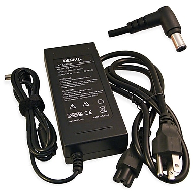Denaq DQ-AC19V19-6044 19.5VDC AC Adapter For Sony Laptops PCG-381L
