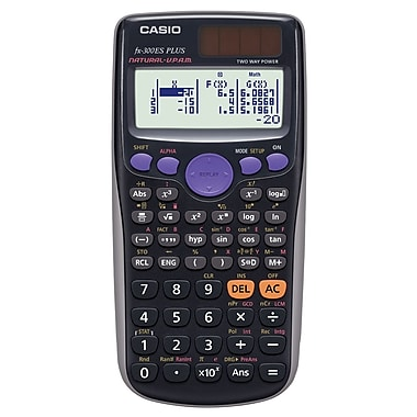 Casio Fx300ESPLUS 2-Line Digit Engineering/Scientific Calculator