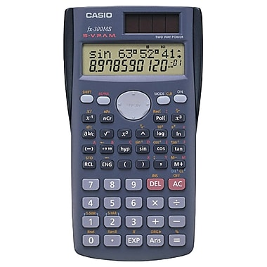Casio® Fx300MSPL Scientific Calculator Teacher Kit
