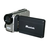 Mustek® HDV527W HD Waterproof Multifunctional Digital Video Camera, Black