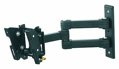 AVF Eco-Mount EL104B-A Multiposition Dual Arm TV Mount For Flat-Panels Up To 33 lbs. 897493