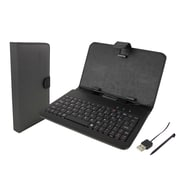 "Supersonic 7"" Universal Tablet Keyboard and Case"
