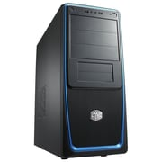 Cooler Master® Elite 311 Mid Tower Computer Case With Windowed Side Panel, Blue