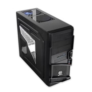 Thermaltake® Commander MS-I ATx Mid Tower Computer Case, Black