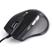 Zalman M400 1600 dpi USB Optical Multi-Button Gaming Mouse, Black