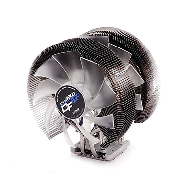 Zalman CNPS9900DF Dual Fans Ultra Quiet CPU Cooler, 1400 RPM