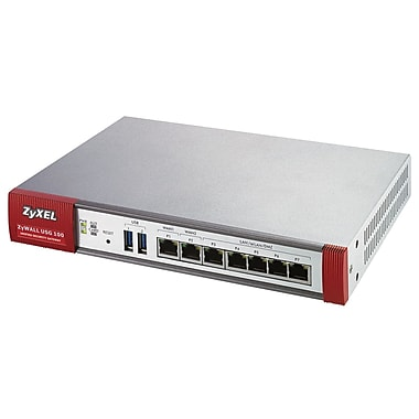 Zyxel USG 100 Unified Security Gateway, 50 IPsec VPN peers
