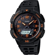 Casio® AQS800W-1B2V Men's Analog/Digital Tough Solar Sports Chronograph Wrist Watch, Black