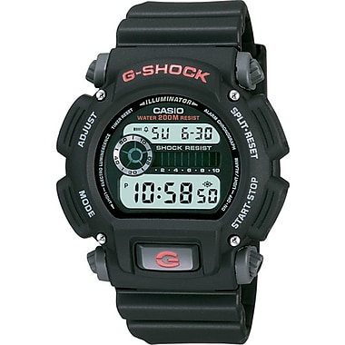 Casio® DW-9052-1VCF G-Shock Men's Analog Sports Wrist Watch, Black