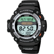 Casio® SGW300H-1AV Men's Digital Twin Sensor Sport Chronograph Wrist Watch, Black