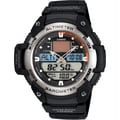 Casio® SGW400H-1BV Men's Analog/Digital Lap Distance Timer Wrist Watch, Black