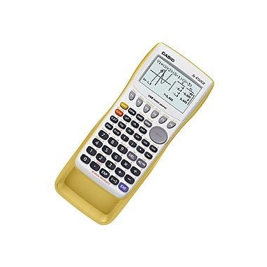 Casio® Fx-9750GII Graphing Calculator, Yellow Bus