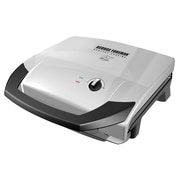 Applica George Foreman® Fixed Plate Grill, Platinum