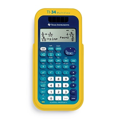 Texas Instruments TI-34 Multi View LCD Scientific Calculator