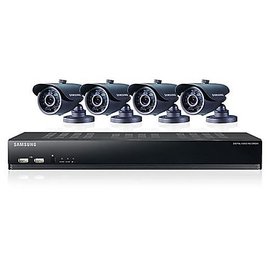 Samsung SDS-V4041 8 Channel DVR Security System With 4 Camera