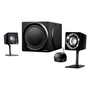 Creative® Labs GigaWorks T3 80 W High-End 2.1 Desktop Speaker System W/ Powerful Subwoofer, Black