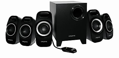 Creative Labs Inspire T6300 57 W 5.1 Surround Speaker System For Gaming, Black