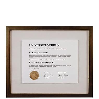 Nexxt Suspense Document Wood Frame, 13