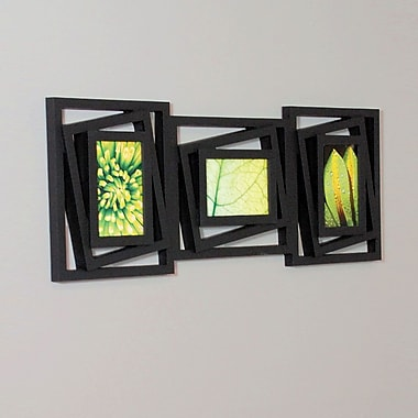 Nexxt Tilt 3 Picture Collage Wall Frame, 4