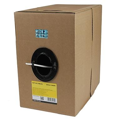 StarTech.com 1000' Bulk Roll of CMR Cat5e Solid UTP Riser Cable, White