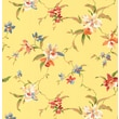 Inspired By Color™ Orange & Yellow Orchid Sidewall Wallpaper, Yellow With Purple/Green/Red