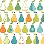 Inspired by Color™ Blue Kitchen Pears Wallpaper, Teal