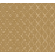 Inspired By Color™ Metallics Palisades Wallpaper, Dark Brown With White/Tan