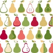 Inspired by Color™ Green Kitchen Pears Wallpaper, Green With Yellow/Pink