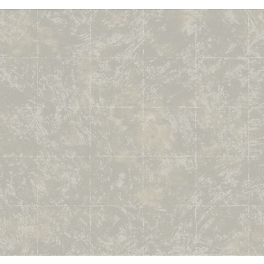 Inspired By Color™ Metallics Arlington Wallpaper, Silver Metallic